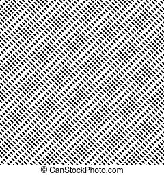 Dashed lines repeatable pattern Abstract monochrome...