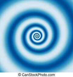 Background with abstract spiral, vortex effect Editable...