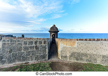 City Walls of San Juan, Puerto Rico