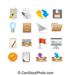 projects and documents icons - Projects and documents icons...