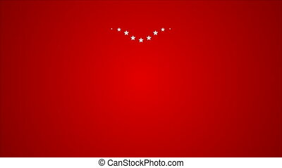 Star heart abstract video animation - Star heart abstract...