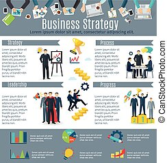 Business Strategy Infographic Set - Business strategy...