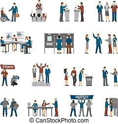 集合, 政治, 選舉