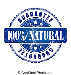 100%  Natura Guarantee Stamp.