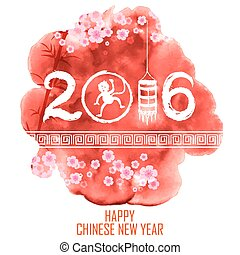Happy Chinese New Monkey Year 2016