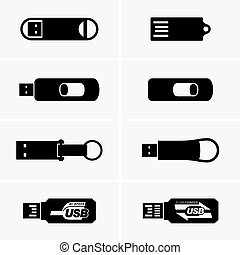 USB flash drives (shade pictures)