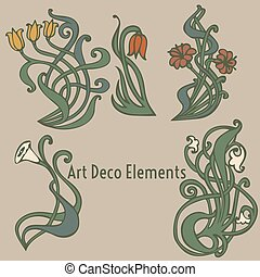 style labels on different topics for decoration and design -...