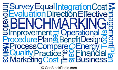 Benchmarking Word Cloud on White Background