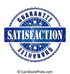 Satisfaction  Guarantee Stamp.