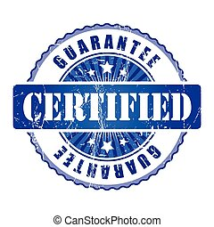 Certified   Guarantee Stamp.