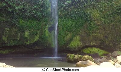 beautifull Tomohon Selatan waterfal - Small and beautifull...