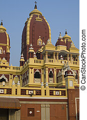 Lakshmi Narayan the Hindu temple in New Delhi
