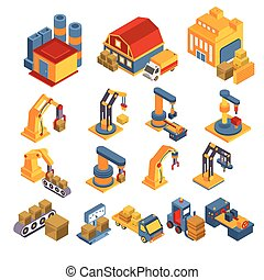 Production and Delivery Isometric Set - Production and...