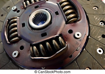 single dry clutch driven plate, auto spare part