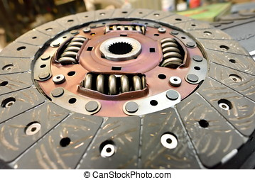dry clutch driven plate, auto spare part