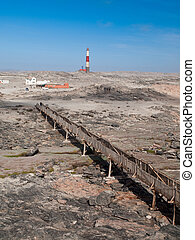 Diaz point lighthouse near Luderitz