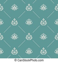 Wallpaper in royal baroque style. Background seamless royal...