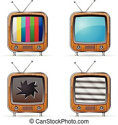 Retro TV Icons