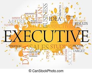 Executive word cloud