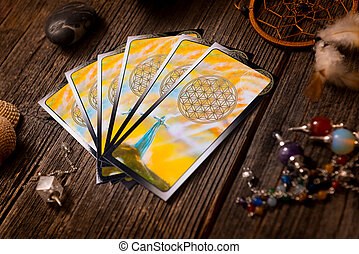 Tarot cards and other accessories - Tarot cards and other...
