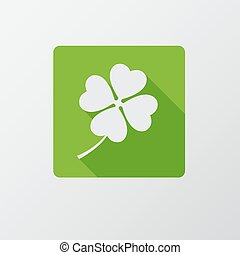 St. Patrick`s Day flat icon. Flat design.