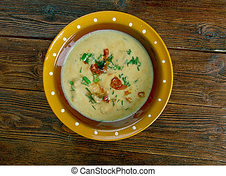 chile with cheese - Chile con queso - chile with cheese....