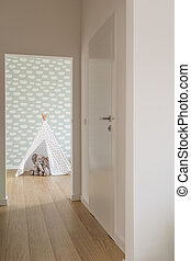 Space for a child - Modern and light space for a child