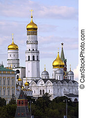 Belltower Ivan Veliky in Kremlin Moscow Russia - Moscow...