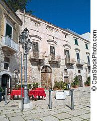 The Oldtown of Trani. Apulia.