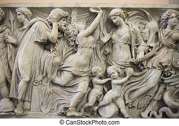 Medea statue in Pergamon museum