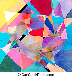 Graphic abstract background - Abstract watercolor background...