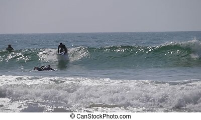 surfers on sea morocco 6