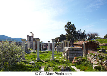 st Johns Basilica - The ruins of the st. Johns Basilica...