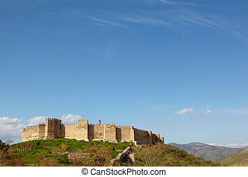 st Johns Basilica - Ayasuluk Castle from the ruins of the st...