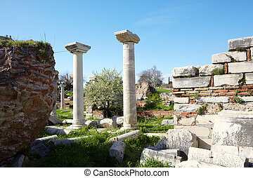 st Johns Basilica - The ruins of the st. Johns Basilica...