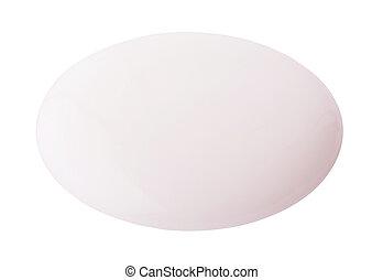 beige, couleur, lotion, rond, goutte, sur, background, ,