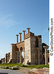 st. Johns Basilica - The ruins of the st. Johns Basilica...