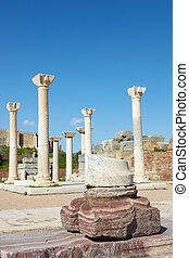 st Johns Basilica - The ruins of the st Johns Basilica...