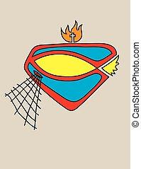 Super Fisher Logo
