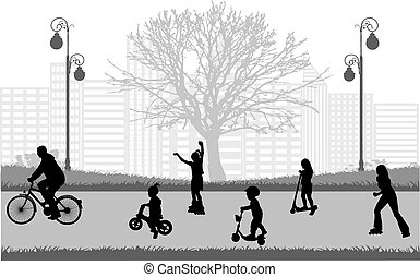 Family active sports.