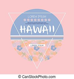 Hawaii Logo with Lettering