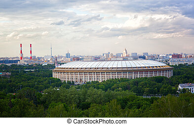 Grand Sports Arena Luzhniki Stadium, Moscow
