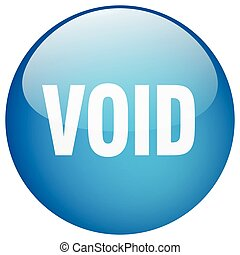 void blue round gel isolated push button