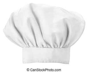 chefs hat isolated on a white background a chefs hat