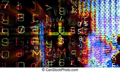 Futuristic Digital Tech Display 10712 - Futuristic digital...