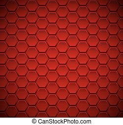 Button Red Leather background
