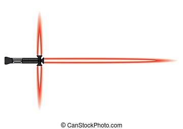 Light sword. melee sci fi Weapon - Light sword. Futuristic...