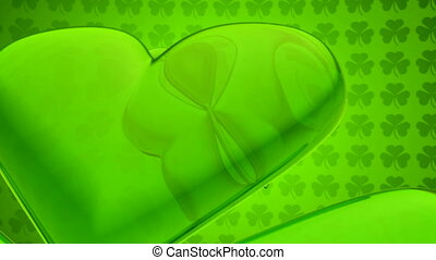Loopable St. Patrick\'s Day Background