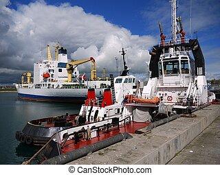 Harbor Tugs A