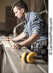 測量, 木匠, 板